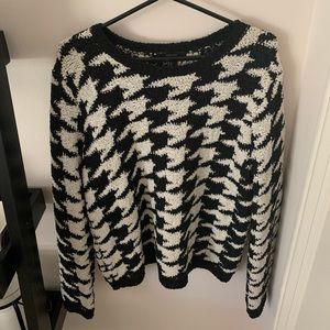 Gigham-esq  Sweater
